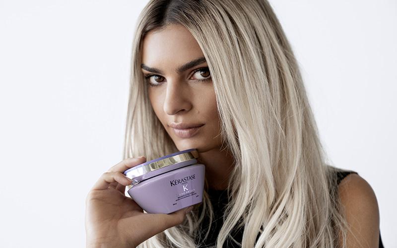 NOUVELLE GAMME BLOND ABSOLU KÉRASTASE. Les soins réparateurs ultra-violets pour cheveux décolorés ou méchés